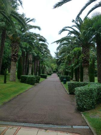 Le Domaine du Levant : Les jardins