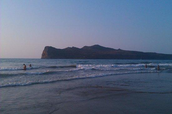 Agia Marina Beach: mare