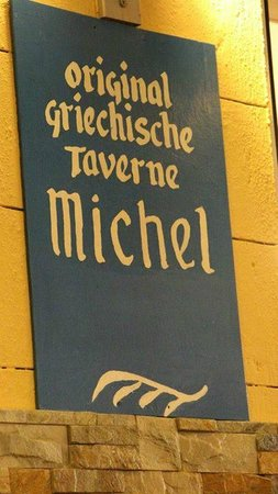 Taverna Michel: insegna MIchele