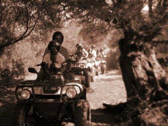 Costa Rei, Itália: Percorso laguna di Feraxi