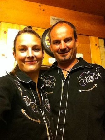 Steakhouse Chuestall : Dennis und s Reini.....