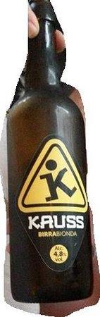La Gargotta del Pellico : birra artigianale Kauss