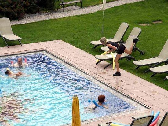 Hotel Schwarzenstein: piscine