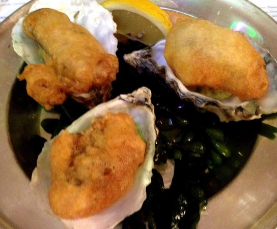 Hix Oyster & Fish House : Fried rock oysters