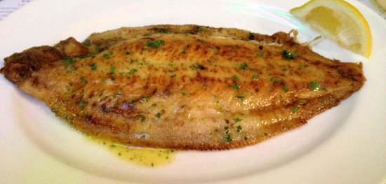 Hix Oyster & Fish House : Grilled lemon sole