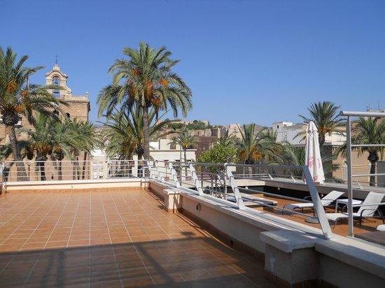 Hotel Catedral Almeria : Vista desde planta superior