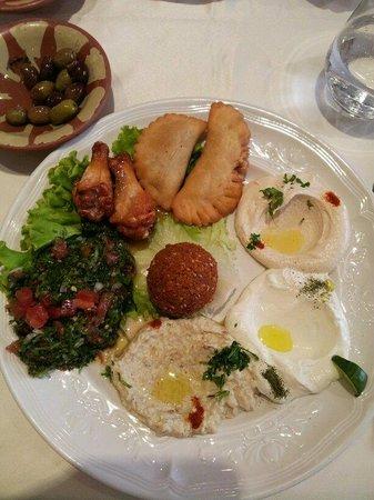 Al Wady: lunch menu