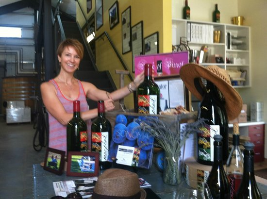 MacPhail Family Winery : The lovely Kerry MacPhail!