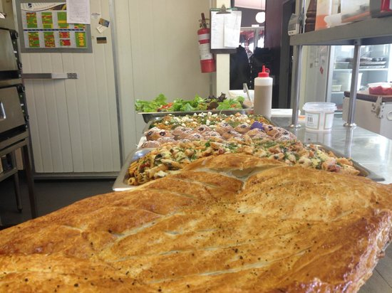 Poppies Cafe: out catering lunch