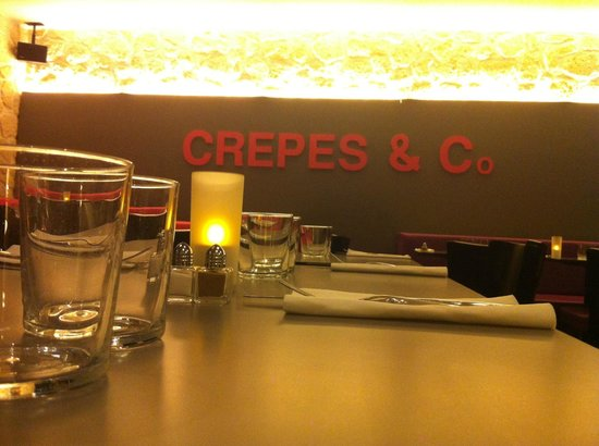 Crepes & Co : Interieur Cosy