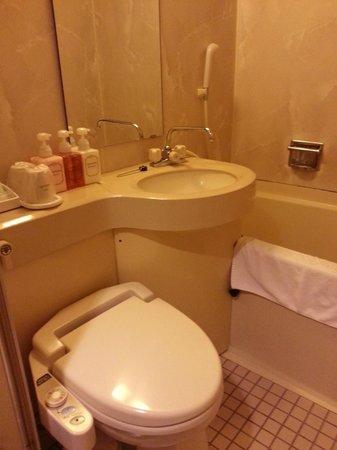 Hotel Sunlite Shinjuku : Toilet
