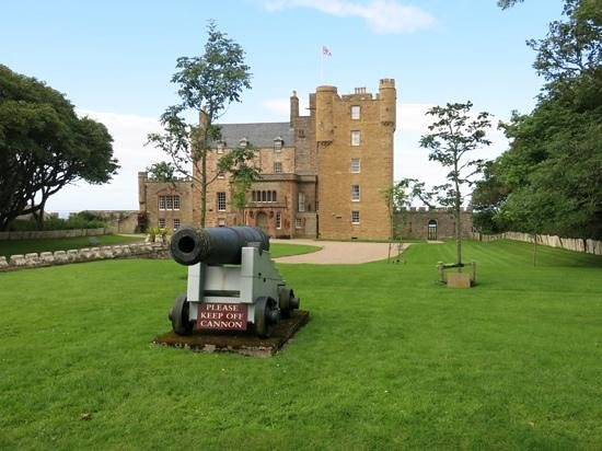 The Castle and Gardens of Mey: Bang on