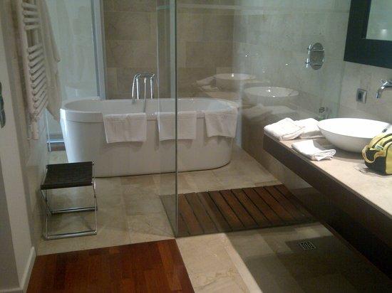 Finca Prats Hotel Golf & Spa: baño habitación