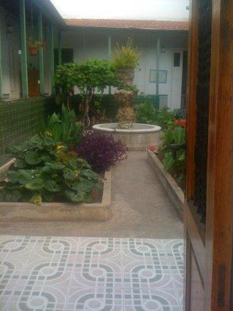 Villa Aurora Apartamentos y Pension: courtyard