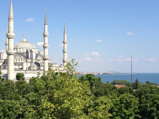 Hotel Turkoman: View from the roof terrace