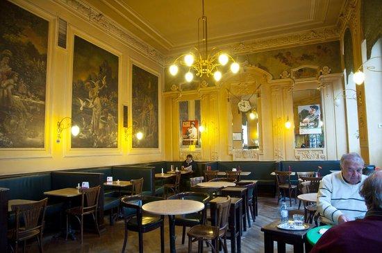 Cafe Ritter : Spiegel Wandbilder Stuck