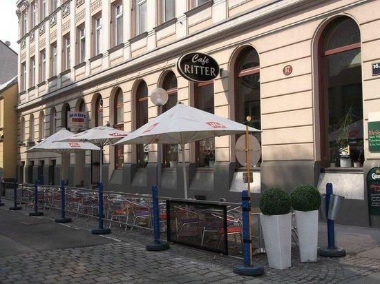 Cafe Ritter : Schanigarten