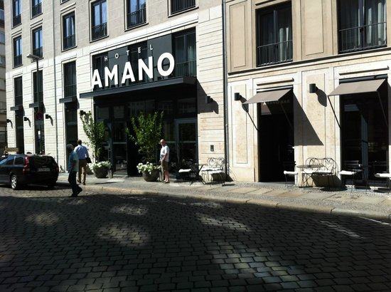 Hotel AMANO : Outside of the hotel