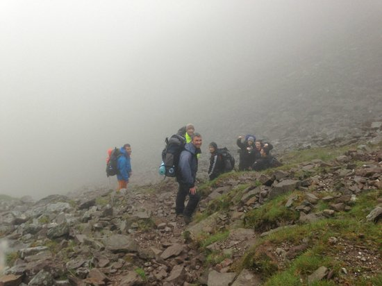 Will and Away: In the clouds on O'Shea's gulley