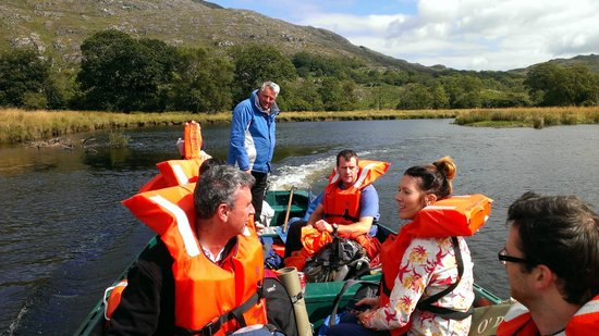 Will and Away: The start of an amazing boat trip through the lakes of Killarney