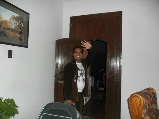 Casa de Tata: Momento de la despedida,volveré...