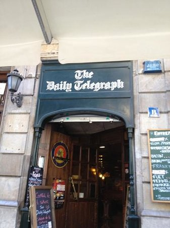The Daily Telegraph English Tavern