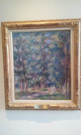 Musée Renoir/Les Collettes : One of the very few works by Renoir on display