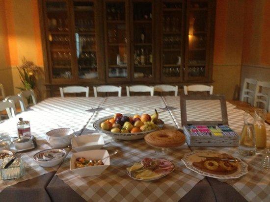 Casolare dei Colli: sala cena e colazione