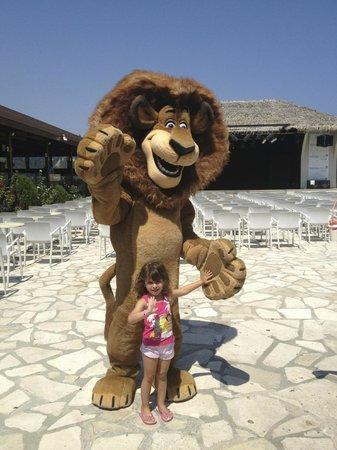 Holiday Village Rhodes: Η κόρη μου με το λιοντάρι