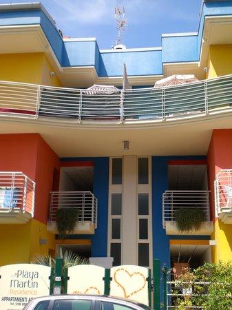 Residence Playa Martin: entrata residence