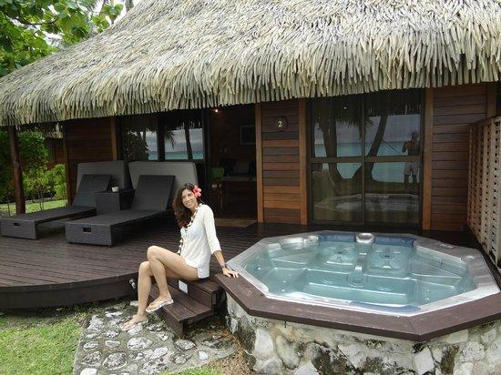 Beach Bungalow Con Jacuzzi Picture Of Hotel Kia Ora Resort