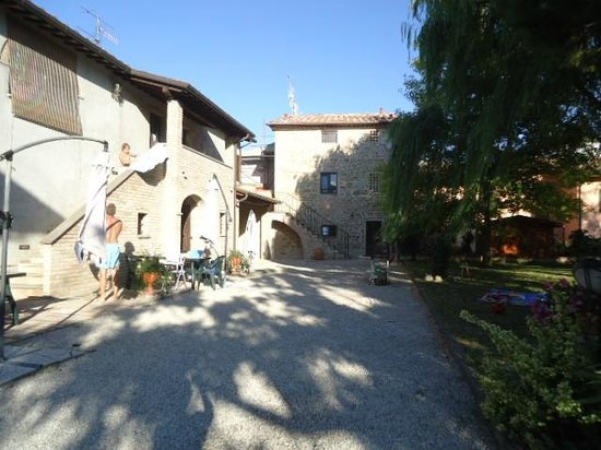 Agriturismo Podere Casenove: Les appartements