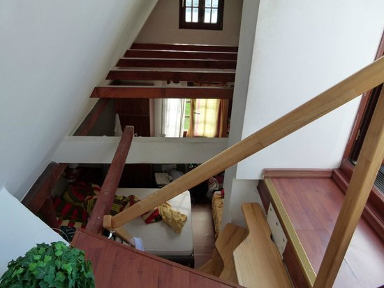 Haus Enteresan: the stairs are very very steep!