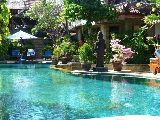 Tamukami Hotel: Lovely pool and gardens
