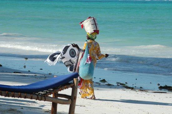 Ndame Beach Lodge Zanzibar: the beach