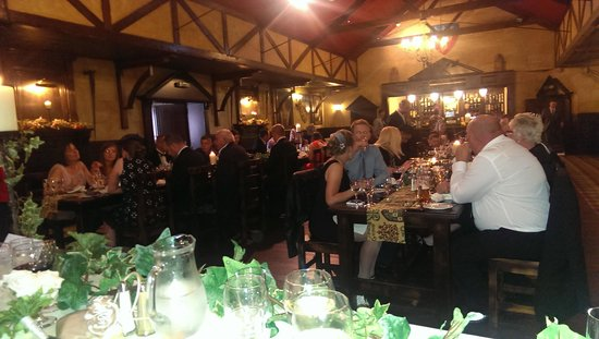 daughters wedding at the forth inn
