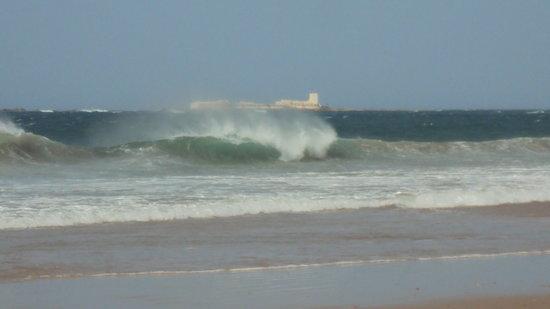 Playa de la Barrosa: La Barrosa e  Sancti Petri