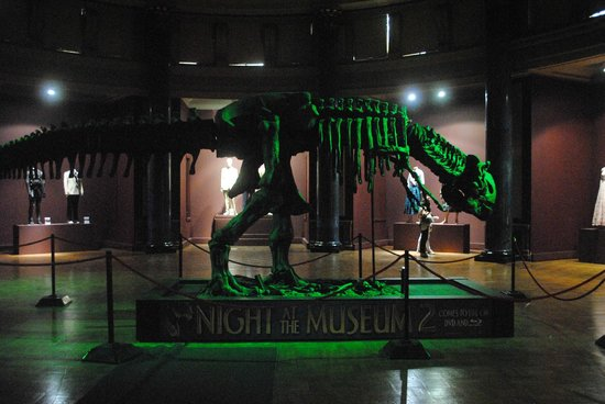 night at the museum picture of the london film museum