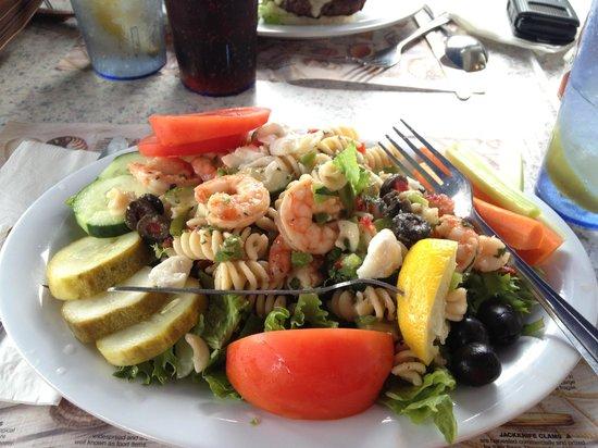 Spadafora's Down East Restaurant: Seafood Salad