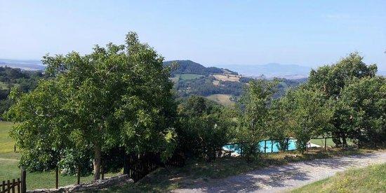 Il Borgo del Lupo : View from bedroom