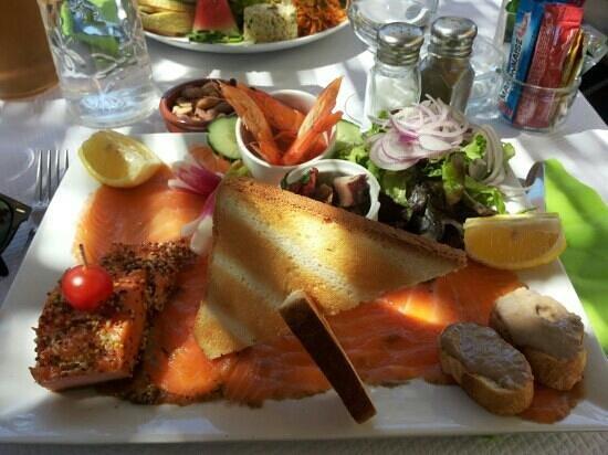 les canaris : assiette de la mer