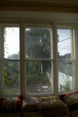 Tinto House B&B: View from the Garden Room on first floor