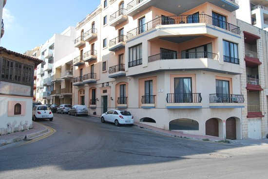 The Mediterranea Hotel & Suites: street