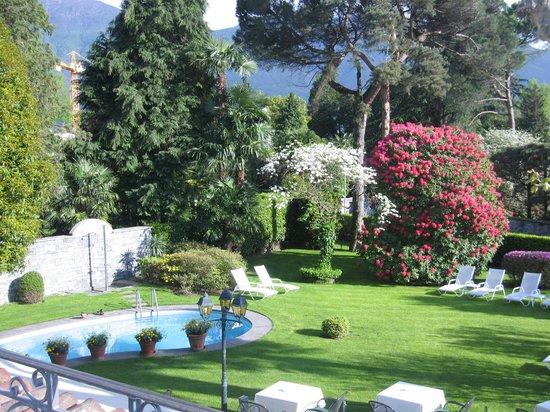 Hotel Ascovilla : Garten Essen 1