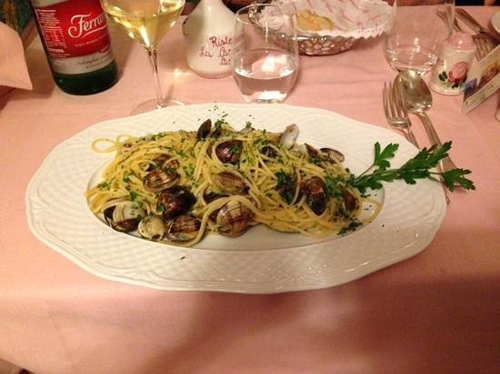 La Capannina: Spaghetti alle vongole