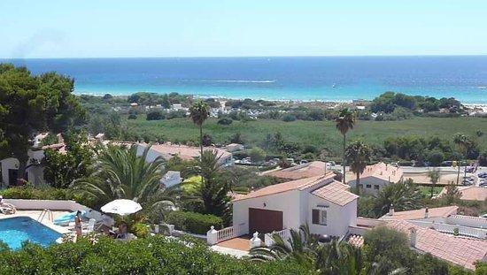 Menorca Vacations: Appartementblick