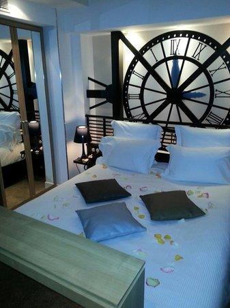 Lit mus e d 39 orsay picture of hotel design secret de for Design secret hotel