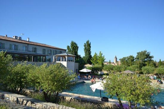 Jardins de Saint-Benoit: Picsine principale