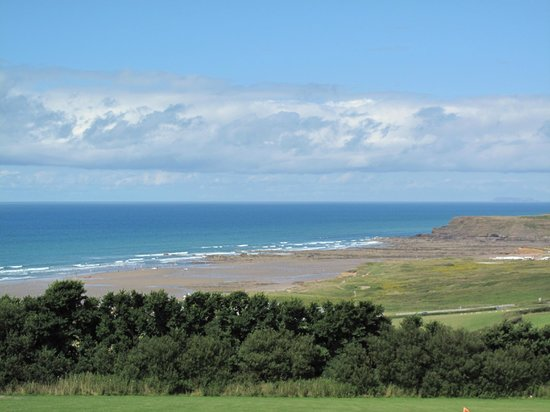 Widemouth Bay Holiday Village: View from the site