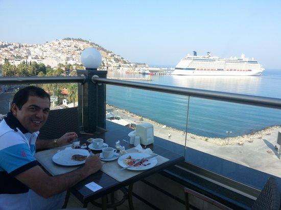 Ilayda Hotel: Café da manhã.